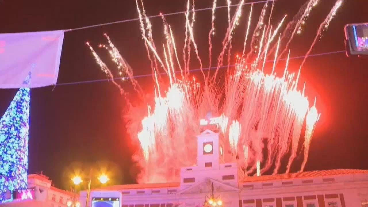 Πρωτοχρονιά στην Μαδρίτη