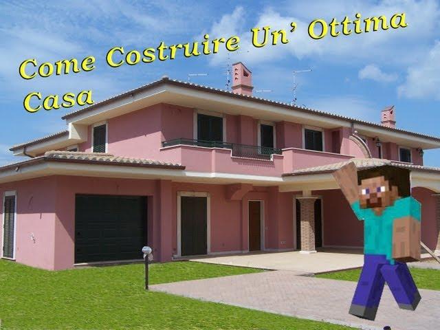 Minecraft tutorial come costruire un ottima casa for Costruire un cottage a casa