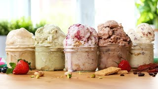 5 EASY Ice Cream Recipes! by The Domestic Geek