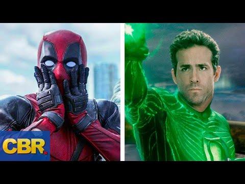 Deadpool Vs Green Lantern Battle