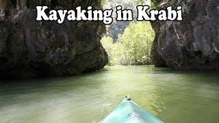 Krabi Kayak Tour Thalen Bay Kayaking In Krabi Thailand About 30 Minutes From Ao Nang