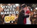 TYLER GETS MARRIED