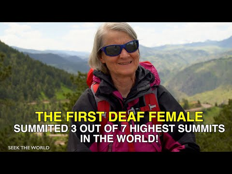 Heidi Zimmer: A Deaf Mountaineer Who Challenged 7 Highest Summits In The World!