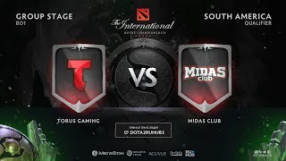 Torus Gaming vs Midas Club, The International SA QL [CrystalMay, Mortalles]