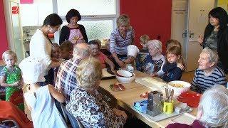 Náhled - Skořice a jablíčka provoněly domov pro seniory
