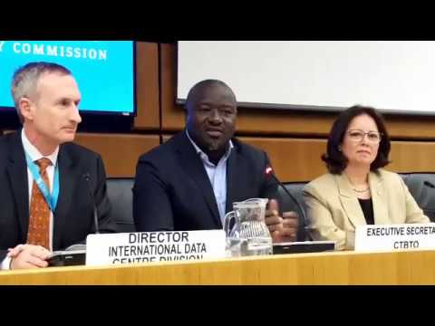 CTBTO Press Briefing to media on the announced nuclear test by North Korea on 3 Sept. 2017