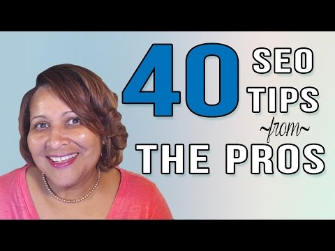 Watch '40 SEO Tip Quotes From the Best Pros in the Business'