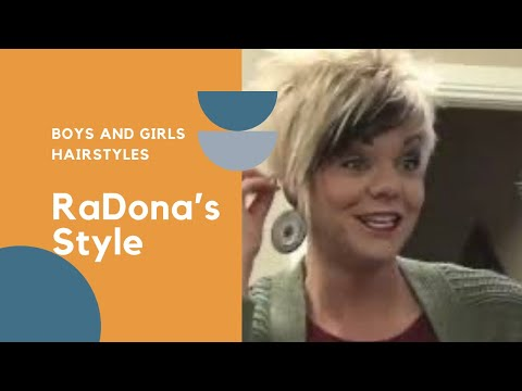 New hairstyle - As Requested - How RaDona (Styles Her New) HairStyle