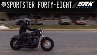 4. Harley Davidson Forty Eight Test Drive