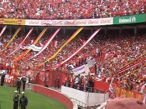 INTER 3x2 Corinthians - Novo canto: BI - MUNDIAL (Beatles) - GUARDA POPULAR - Brasileiro 2010 - Guarda Popular do Inter - Internacional