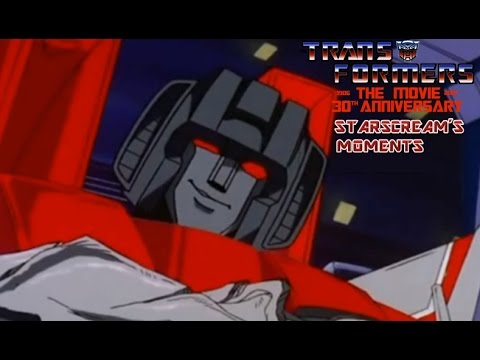 Transformers Movie (1986) Starscream´s  Moments. #Nightbeat