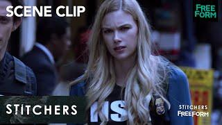 Stitchers   Season 3, Episode 2: The Stitch Team Saves The Day   Freeform