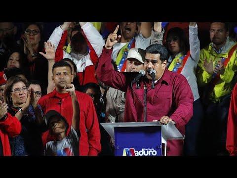 Nicolas Maduro hat Präsidentschaftswahlen in Venezuela  ...