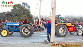 Ford 3600 vs Hindustan sirra tractor tochan video