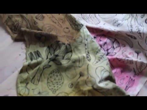 Easy DIY: textile dip-dye with veggies
