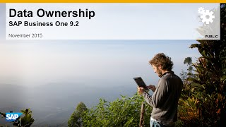 SAP Busines One 9.2 Data Ownership