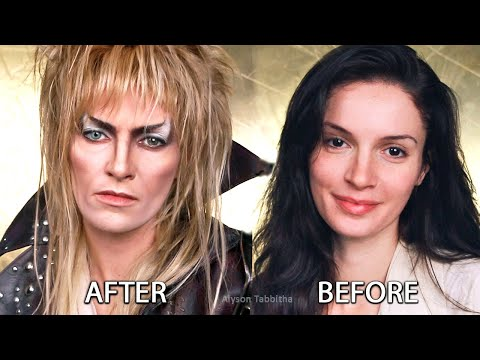 Labyrinth - Jareth Goblin King (David Bowie) Makeup Transformation