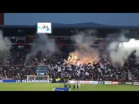 Recibimiento ULTRA TUZA 2016 PACHUCA vs Santos - Barra Ultra Tuza - Pachuca