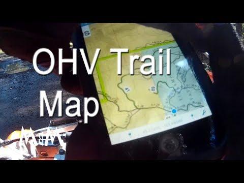 Upper Nestucca OHV Map