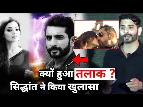 Siddhant Karnick Opens Up About His Divorce with wife Meghna Gupta
