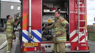 Brandweer rukt uit naar Neerduist