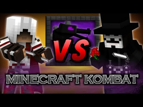 Minecraft Kombat - Ezio vs V for Vendetta видео