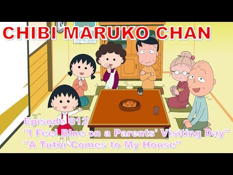 "Chibi Maruko Chan Eng Dub #812  ""I Feel Blue On A Parents' Visiting Day"" And The Other"