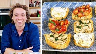 Easy Bruschetta 3 Ways with Frankie Celenza by Tastemade