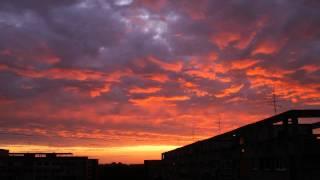 bucharest sunrise timelapse 30.09.2011 1080p