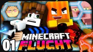 Paluten & GermanLetsPlay und die Flucht aus dieser Dimension! • Minecraft: Flucht