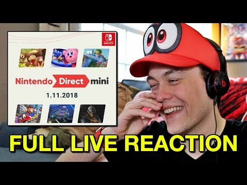 Nintendo Direct Mini LIVE REACTION - The World Ends with You: Final Remix, Mario Tennis Aces & More!