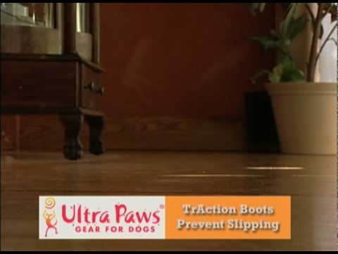 No Slipping - Ultra Paws TrAction Dog Boots