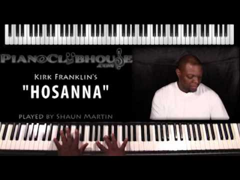 "♫ ""HOSANNA"" (Kirk Franklin) - Gospel Piano Cover ♫"