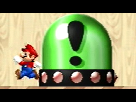 Newer Super Mario Bros Wii - All Switch Palaces (видео)