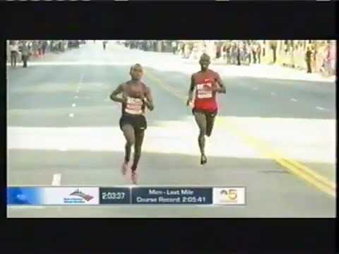 Tsegaye Kebede - Sammy Wanjiru Brang Peace Than Realese. Long Live. 2010 Chicago Marathon. His Last Marathon Before His Death. Long Live The Legacy. Fuck The Illuminati And N...