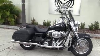1. Used 2006 Harley Davidson FLHRSI Road King Custom