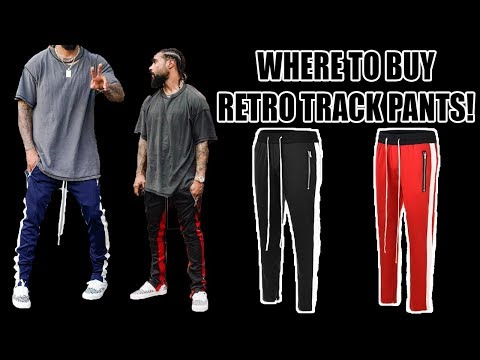 WHERE TO BUY RETRO TRACK PANTS!