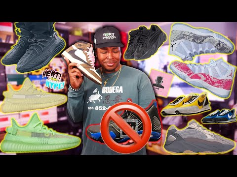 THESE ARE HORRIBLE! NIKE SNKRS BROKE, ANTLIA YEEZY, SNAKESKIN 11, TRAVIS AJ1 & MAY SNEAKER RELEASES!