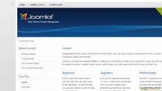 Joomla! 2.5 Tutorial - Modules
