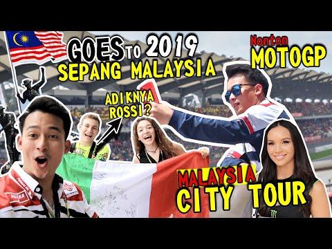 TRAVEL VLOG PART1  MALAYSIA CITY TOUR   AKHIRNYA KESEMPAIAN NONTON MOTOGP SECARA LANGSUNG 😍