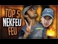 NEKFEU - TOP 5 ♫ - ALBUM FEU 🔥