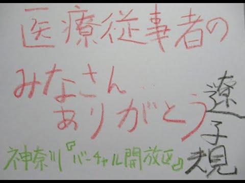 神奈川「バーチャル開放区」遼子規キンジロウ 不確かな時代 ともに生きようの画像