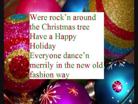 Tekst piosenki Emma Lahana - Rock Around The Christmas Tree po polsku