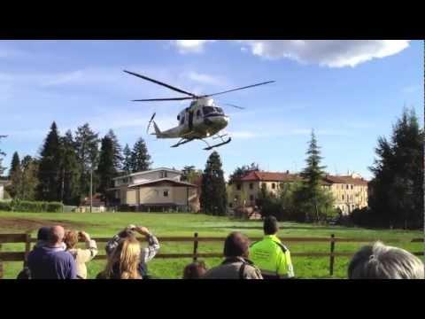 Elicottero della Guardia di Finanza per il nuovo Parco di Tradate