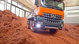 Video RC TRUCK ACTION! MAN! Scania! MB Arocs! Liebherr! Volvo! Komatsu! RC Dozer! RC Digger! MP3, 3GP, MP4, WEBM, AVI, FLV Juni 2018