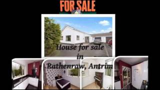 Antrim United Kingdom  city photos : Property, house for sale in Ballymena, Rathenraw, Clogh (Antrim), UK - Video