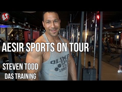 Aesir Sports on Tour #2-1: Training mit Steven Todd im High5 (Fulda)
