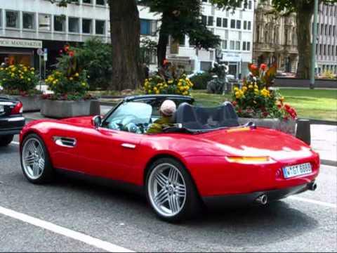 BMW Z8 with Alpina rims @ City Centre Düsseldorf [Autogespot - Carspotting]