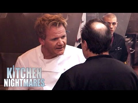 Chef BLAMES RAMSAY For Awful Service | Kitchen Nightmares