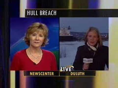 Duluth NBC News Reporter Julie Pearce Blooper Breaking Live